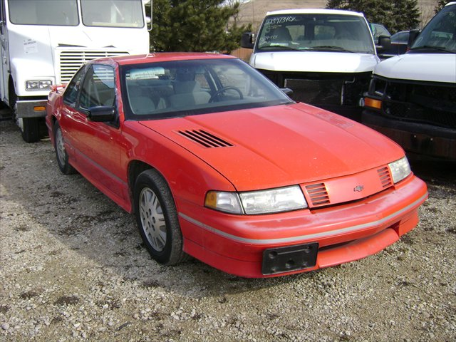 1991 Chevrolet Lumina Z34 http://alsautosalvageandsales.com/vehicle_pages/repairables/cars/159-1991_chevy_lumina_red_vin9202.html